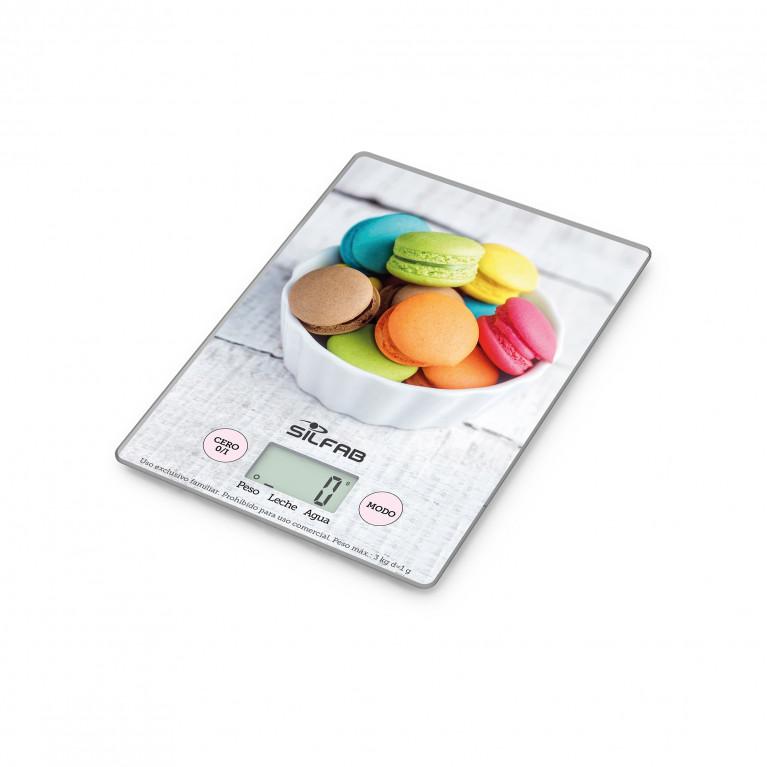 Balanza digital de cocina Macaroon BC300M