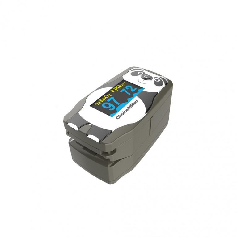 Oxímetro de pulso pediátrico diseño Panda. MD300-CPP