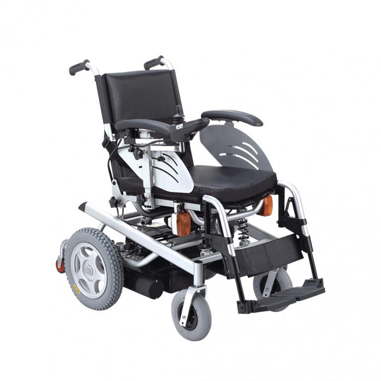 Silla de ruedas motorizada Deluxe, ancho 43 cm. S1105-DL