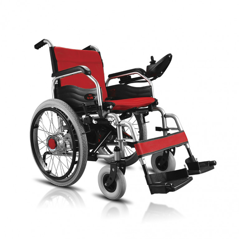 Silla de ruedas motorizada ECONÓMICA Ancho 45 cm. S1105-EC