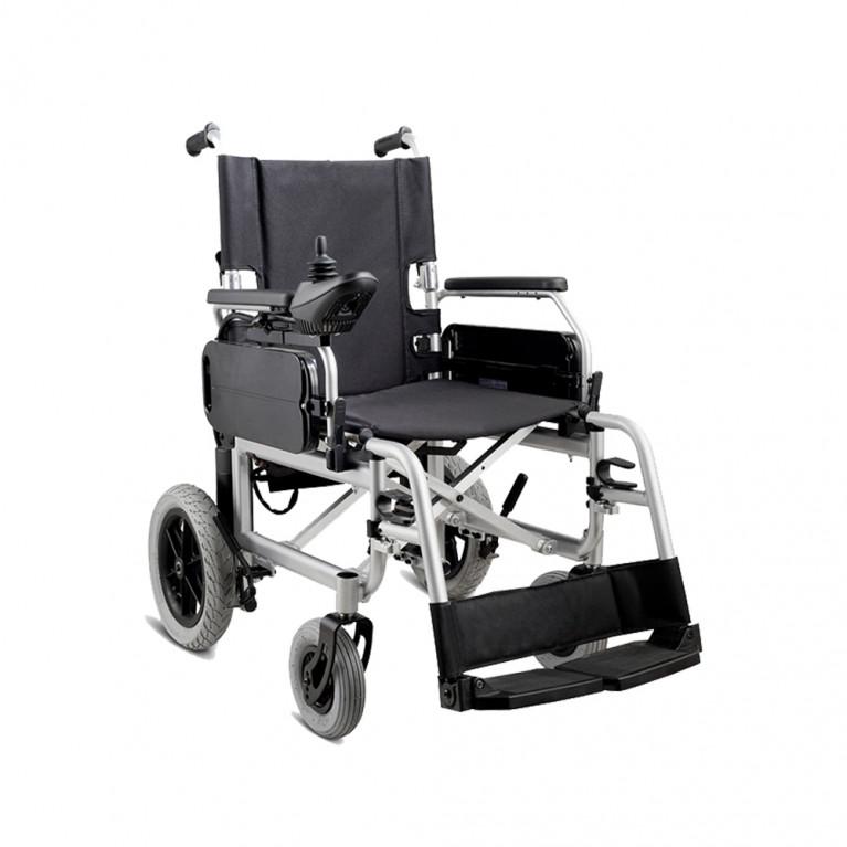 Silla de ruedas motorizada plegable, ancho 46 cm. S1105-PL