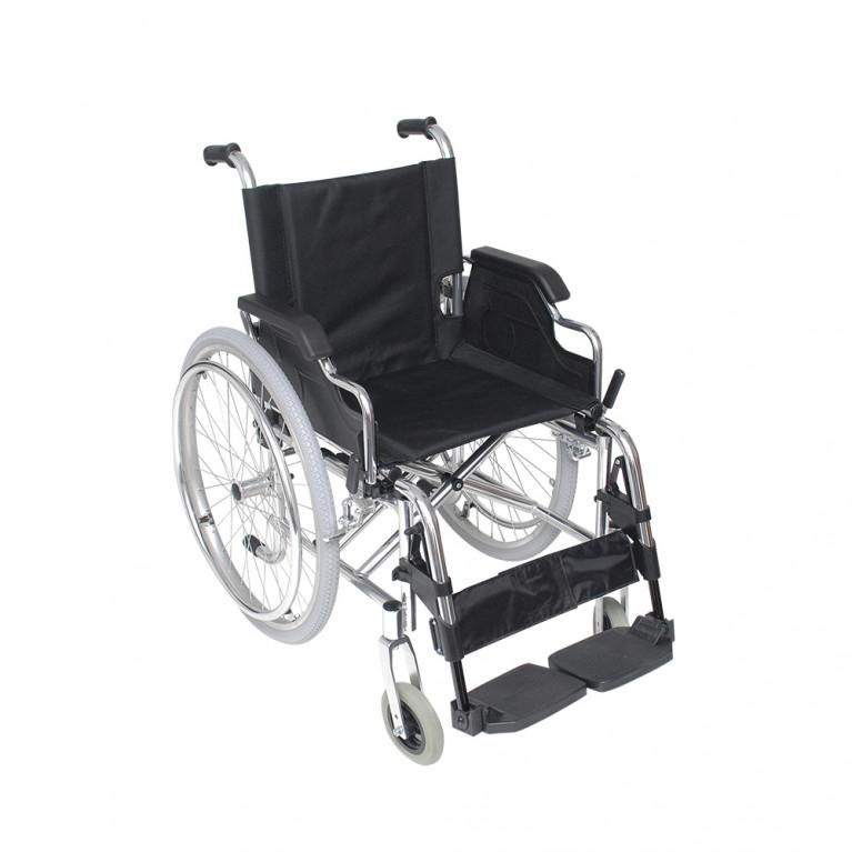 Silla de ruedas liviana de aluminio. S3007