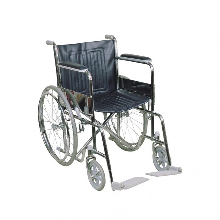 Silla de ruedas fija, ancho 46 cm. S3010/46
