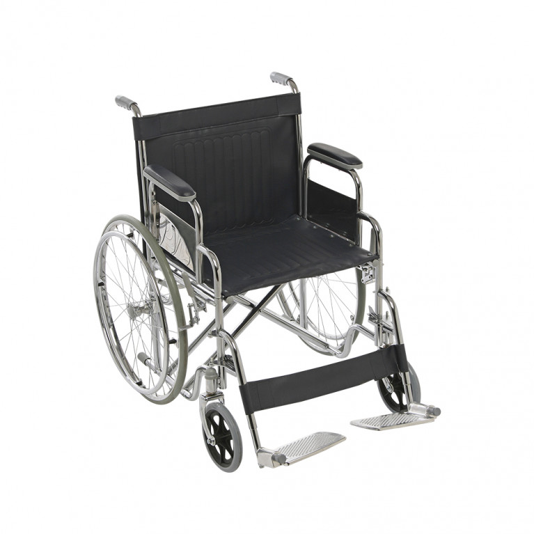 Silla de ruedas reforzada, ancho 50 cm. S3011A